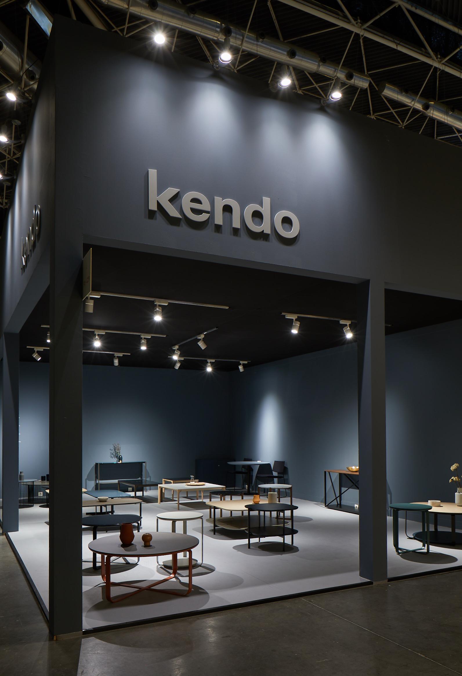 kendo mobiliario en la feria de habitat 2019